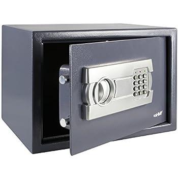 HMF 4612212 Caja fuerte con cerradura electrónica | 35 x 25 x 25 ...