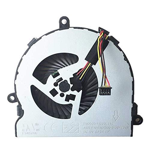 FCQLR Nuevo enfriamiento Ventilador Compatible para HP Notebook 15-AC 250 G4 255 G4 15-AY 15-BA CPU enfriamiento Ventilador 813946-001