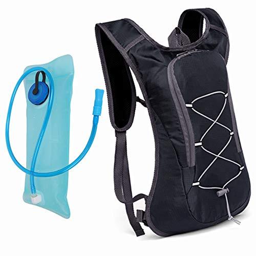Sac à dos d'hydratation avec vessie d'eau 2L, pack d'isolation thermique pour hommes femmes enfants parfait pour le sac à dos en plein air sport course à pied randonnée à vélo ski vélo camping