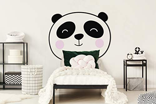 Oedim Cabecero Infantil Cama PVC Animales Panda 100x120cm | Cabecero Ligero, Elegante, Resistente y Económico
