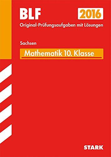 STARK Besondere Leistungsfeststellung Gymnasium Mathematik 10. Klasse Sachsen