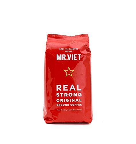 Mr Viet echter vietnamesischer Kaffee | frisch und schnell geliefert aus Vietnam – gemahlener Kaffee geröstet, authentische Mischung, geeignet für alle Kaffeemaschinen, 250 g