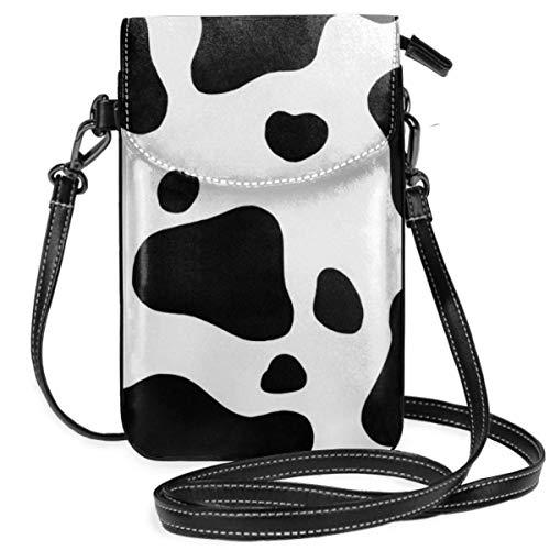Bolsa pequeña para teléfono celular, cartera con correa ajustable para mujer