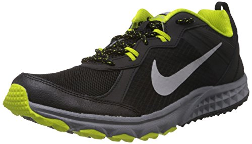 Nike Men's Wild Trail Black,Metallic Silver,Venom Green,Cool Grey...