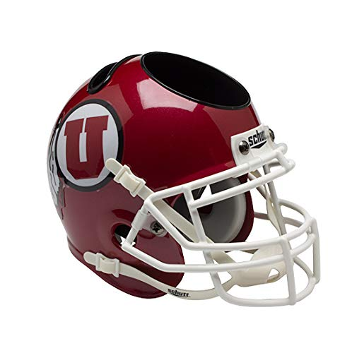 NCAA Utah Utes Mini Helmet Desk Caddy
