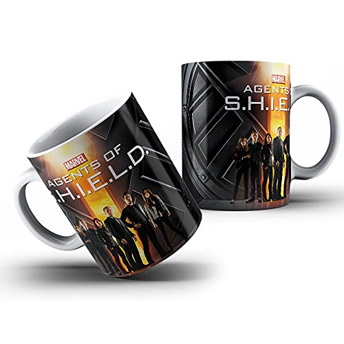 Agentes da SHIELD - Marvel Studios - Caneca