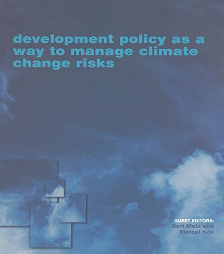 Development Policy as a Way to Manage Climate Change Risks (English Edition)