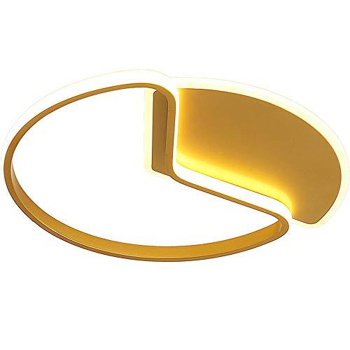 WFZRXFC Lámpara de Techo LED de Montaje Empotrado de Aluminio, Modelado Creativo, lámpara de Techo Interior, lámpara de Techo Ultrafina de 2,7 Pulgadas para Dormitorio, Porche, Pasillo