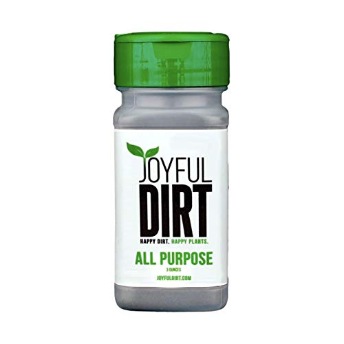 Joyful Dirt Premium Concentrated All Purpose Organic Plant Food and Fertilizer. Easy Use Shaker (3 oz)