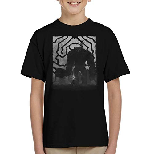 Cloud City 7 Shadow of The Colossus Characters Kid's T-Shirt