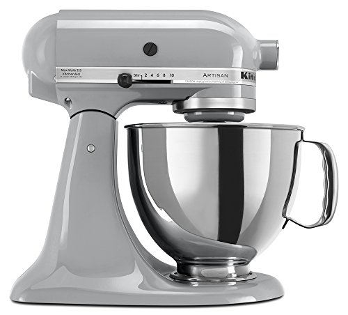 KitchenAid RRK150MC  5 Qt. Artisan Series - Metallic Chrome (Renewed)