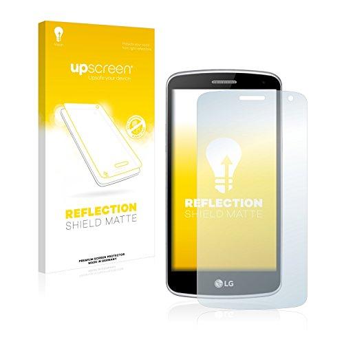 upscreen Entspiegelungs-Schutzfolie kompatibel mit LG K5 – Anti-Reflex Bildschirmschutz-Folie Matt