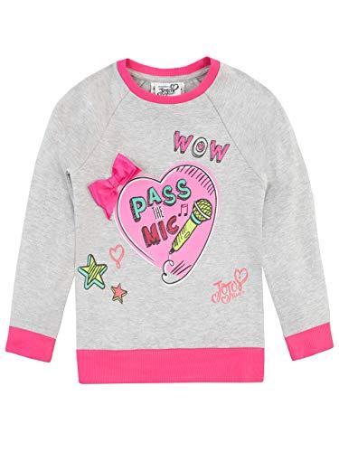 JoJo Siwa Girls' Jo Jo Sweatshirt Size 6 Gray