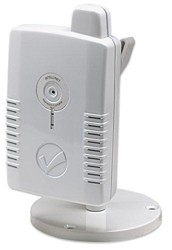 Intellinet NSC11-WN Netzwerkkamera Motion-JPEG + MPEG4, 300k CMOS, 150 Mbit/s Wireless 802.11n 551113