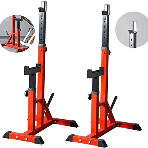 Soporte Central Rack Prensa DE Banco Inicio Gym HALTERA Rack