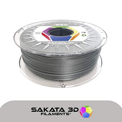 PLA Filamento premium SAKATA 850 (MAGIC SILVER)