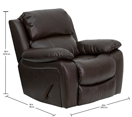 Flash Furniture Brown LeatherSoft...
