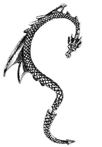 Alchemy Gothic (Metal-Wear) Le Dragon De Leurre Oreille D'enveloppe