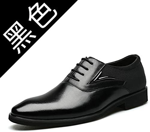 LOVDRAM Bottes Homme Hiver New Business Chaussures pour Hommes Chaussures Habillées pour Hommes Chaussures en Cuir Grand Taille Original