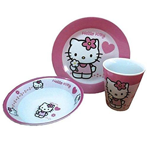 Hello Kitty Frühstücksset, 3-teilig