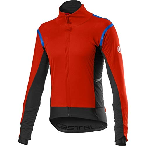 CASTELLI Alpha Ros 2 Jacket, Sportjacke für Herren L Fiery Red
