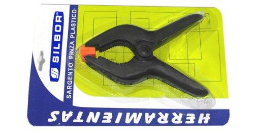 Silbor-Morsetto clip delle materie plastiche