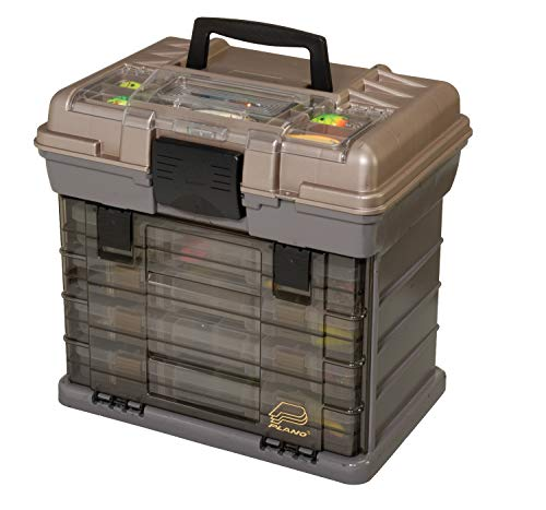 "Plano 137401 By Rack System 3700 Size Tackle Box, Multi, 16"" X 12"" X 17.25"" 6lbs"