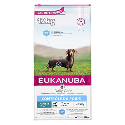 Eukanuba Adulte Contr ´le Du Poids Petites Et Moyennes Tailles 12 KG