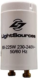 Premium Tanning Lamp Starter 80W - 225W Single Lamp Fluorescent (Replaces S11, S12, K11) (6)