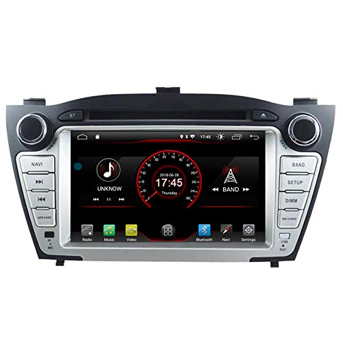 Autosion Android 10 Cortex A9 1,6 g Auto DVD Player GPS Stereo Head Unit Navi Radio Multimedia Wifi für Hyundai Tucson ix35 2009 2010 2011 2012 2013 2014 2015 Stütze Lenkrad Kontrolle