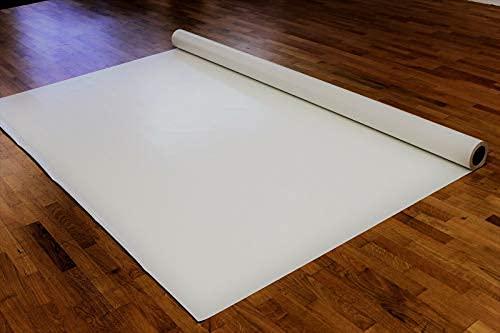 Lkw Plane 700 g (2,00 m x 2,50 m, Weiß) PVC Plane, Abdeckplane Meterware, sehr robust, hochwertig, beidseitig lackiert, leicht abwaschbar, 100% Wasserdicht, hohe UV...