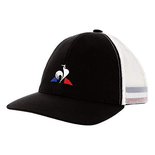 Le Coq Sportif Tri Cap Black Gorra, Unisex Adulto, Talla Única