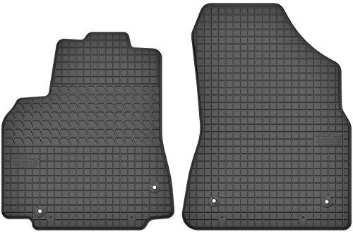 Motohobby Gummimatten Vorne Gummi Fußmatten Satz für Citroen Berlingo II/Peugeot Partner II (2008-2018) - 2-teilig - Passgenau