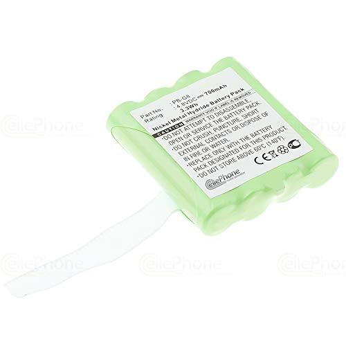 cellePhone Batterie Ni-MH Compatible avec Midland G6 G8 M24 M48 M99 SM400 / Alan 441 443 5006 (Remplacement pour PB-G8)