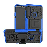 betterfon   Outdoor Handy Tasche Hybrid Hülle Schutz Hülle Panzer TPU Silikon Hard Cover Bumper für Samsung Galaxy A9 (2018) Blau