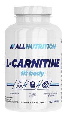 ALLNUTRITION L-Carnitine Fit Body Fettburner Fettreduktion Sport Training Bodybuilding (120 Kapseln)
