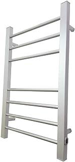 Cxjff Toallero eléctrico Espacio de Aluminio Deshumidificación a Prueba de Humedad fácil de Usar Estante de baño Toallero Calefactor Rejilla de Secado for niños Adecuado for Cocina de baño