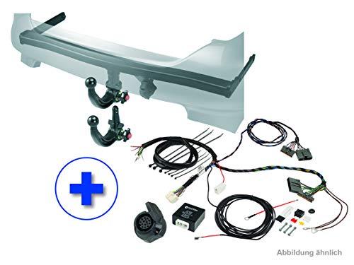 WESTFALIA Automotive 307639900113 Enganche de Remolque Desmontable-AHK para Ford Tourneo/Transit Courier (a Partir de 06/2014) -En Set de 13 Polos de Juego eléctrico específico para vehículos