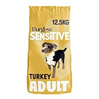 We've changed the look, but we still have the same trusted recipe for your sensitive dogs Burgess Sensitive is a dry dog food made without many of the typical ingredients that can cause sensitivities for dogs Burgess Sensitive dog food turkey is form...