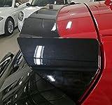 AniFM Aileron arrière en Fibre de Carbone E87 F20 série 1 pour 1 série, berline 08 Portes, becquet arrière, becquet arrière en ABS Noir,Black