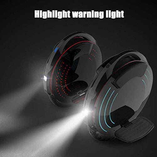 Elektro-Einrad mit hellen LED Scheinwerfer Bild 3*