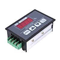 DC 6-60V PWM Speed Regulator Button Type Motor Current Regulation Type Power Controller