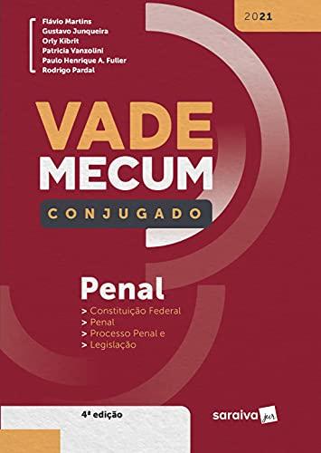 Vade Mecum penal conjugado - 4ª Edição 2021
