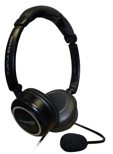 Turtle Beach Ear Force Z1 - Auriculares (Con cables, 2x 3.5 mm, 3.048 m, 20 - 20000 Hz, 32 Ohmio, 120 Db) Black