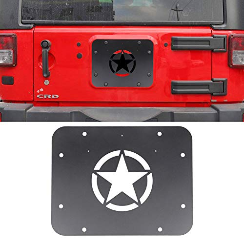 jeep tailgate vent plate - 7
