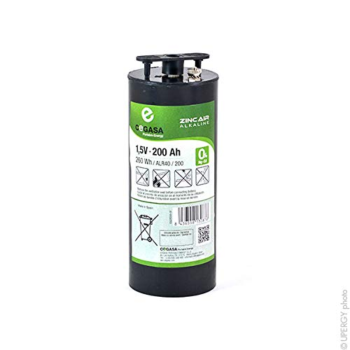 Cegasa - Batterie Luftsauerstoff Alkaline ALR40/200 1.5V 200Ah