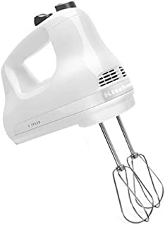 KitchenAid KHM512WH 5-Speed Ultra Power Hand Mixer, White