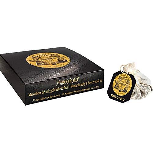 マリアージュ フレール 紅茶の贈り物 マルコポーロ モスリンコットン ティーバッグ (TB918)