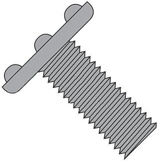 8-32 x 1//2 Weld Screws//Nibs Under Head//Steel//Plain Carton: 5,000 pcs