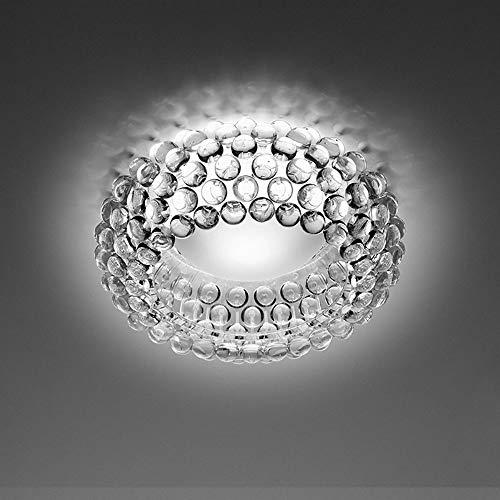 De enige goede kwaliteit Indoor Edelsteen Plafond Lamp Slaapkamer Woonkamer Balkon Hal Plafond Lamp (transparant/Amber) 50cm In Diameter
